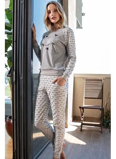 Anıl Pijama Takım Gri